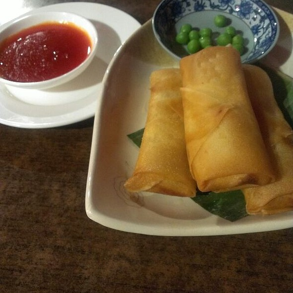 Vegetarian Spring Rolls @ Obsession Restaurant & Bar