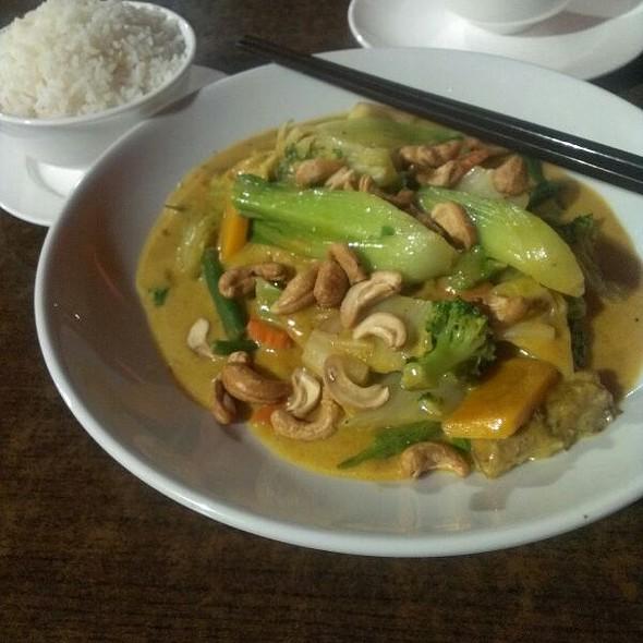 Vegetarian Curry @ Obsession Restaurant & Bar