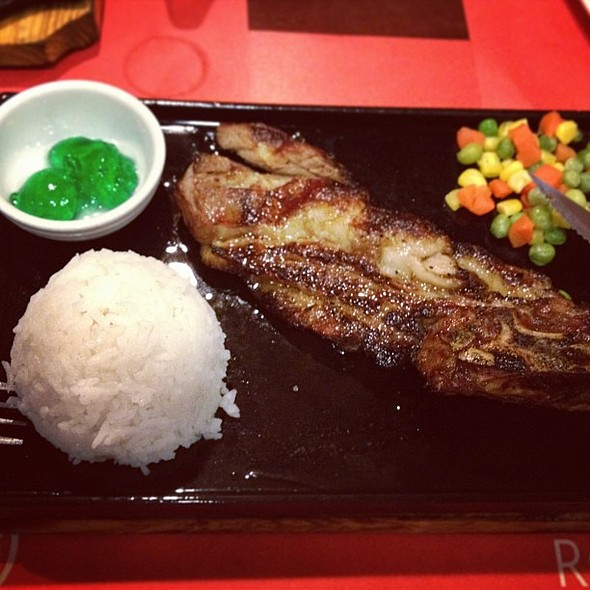 Lamb Chops w/ Mint @ Rodeo Grill Barbecues + Sizzlers