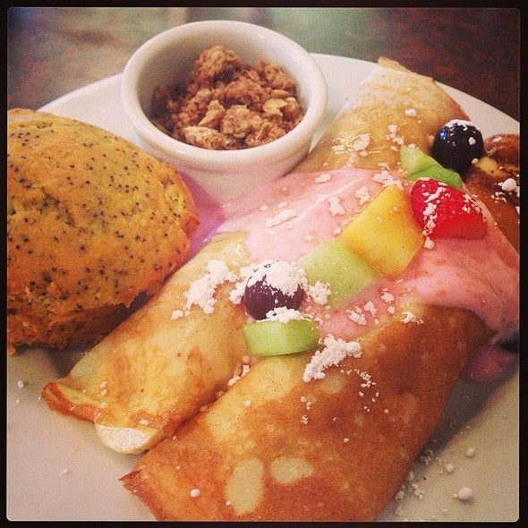 Fresh Fruit Crepes @ First Watch Restaurant