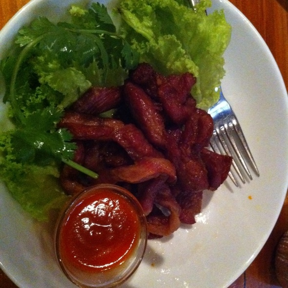 Air Dried Pork Loin @ Chat Thai