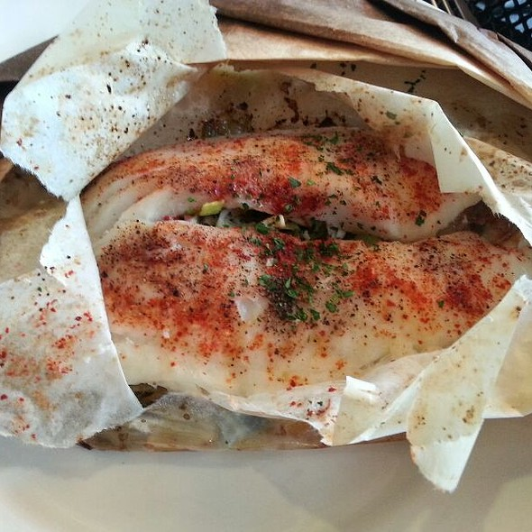 Fish En Papillote @ Muss & Turner's Inc