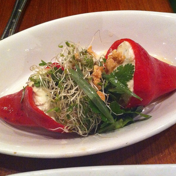 Stuffed Piquillo Peppers @ Mojito's Tapas Restaurant