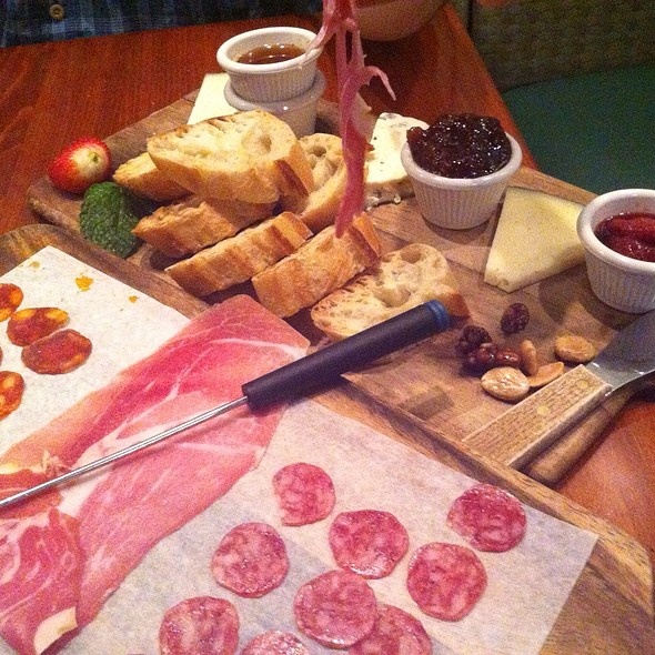 Chef's Selection Of Meats And Cheeses @ Mojito's Tapas Restaurant