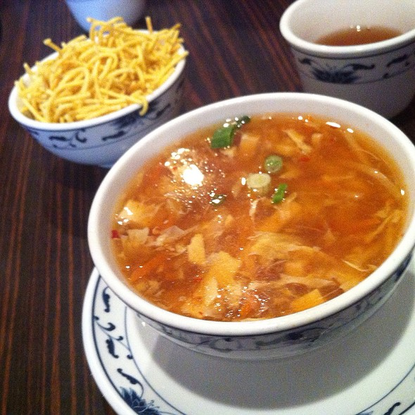 Hot and Sour Soup @ Oriental House