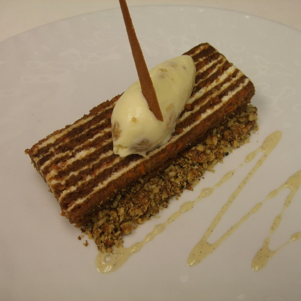 Layer Carrot Cake @ The Source by Wolfgang Puck