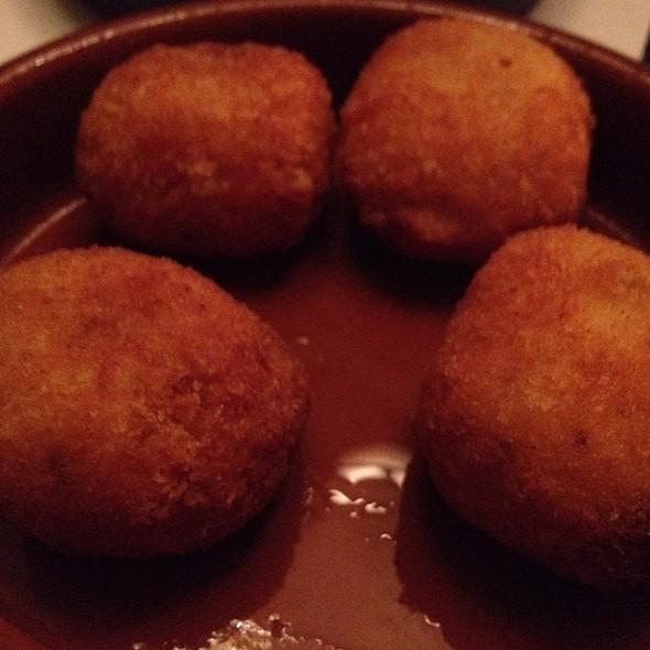 Cheese Risotto Balls @ L'incontro