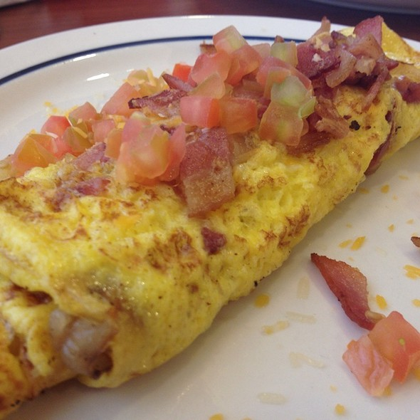 Bacon And Cheese Omelette @ Ihop