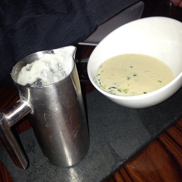 White Onion Veloute with White Truffle oil - Fleur by Hubert Keller - Las Vegas, Las Vegas, NV