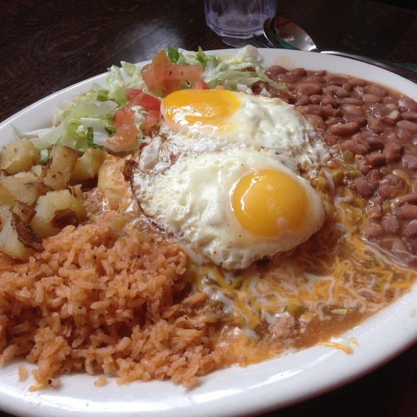 New Mexican Enchilada Plate