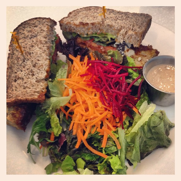Neatloaf Sandwich @ Ananda-Fuara Vegetarian