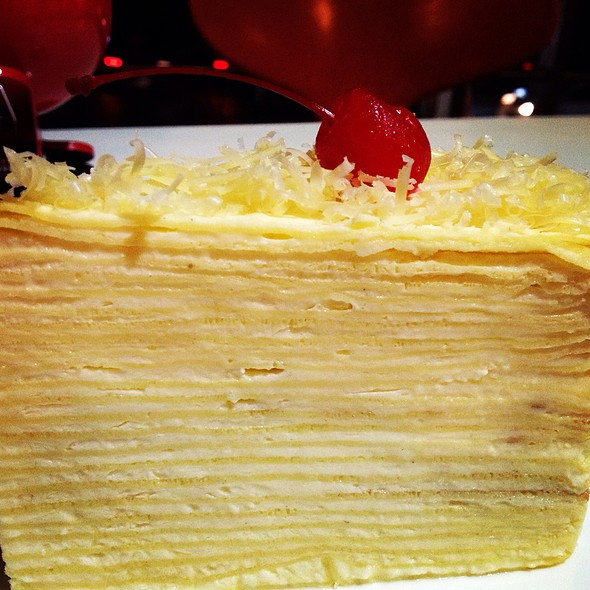 Layered Cheese Cake @ Brussels Spring - Setiabudi