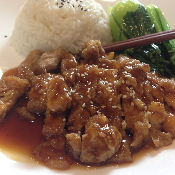 Chef Chen's Special Chicken @ element fresh portman