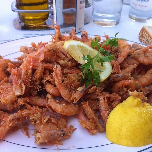 Fried shrimp @ Ηλιας Fish Tavern