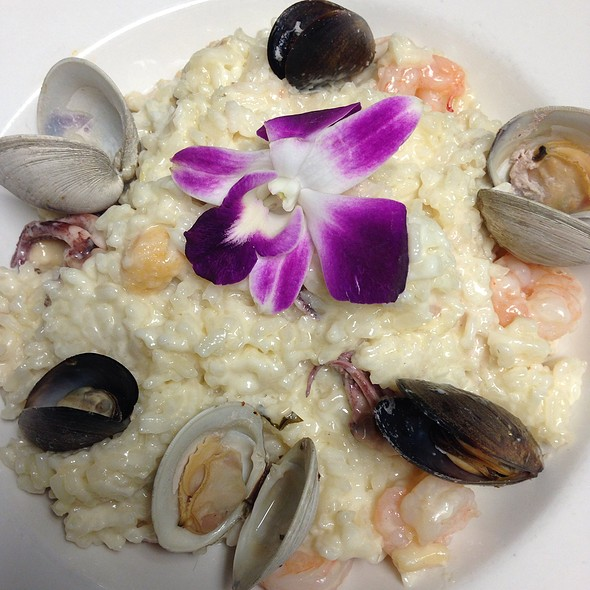 Seafood Risotto - Iozzo's Garden of Italy, Indianapolis, IN