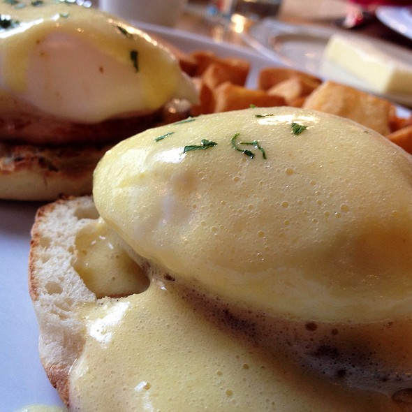 Eggs Benedict @ Adour at the St. Regis Washington, D.C.