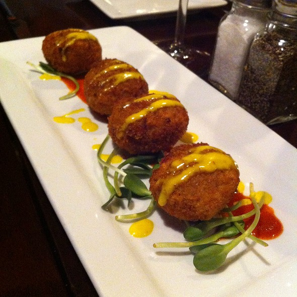Crab Cakes With Lime Sauce - Martine Cafe, Salt Lake City, UT