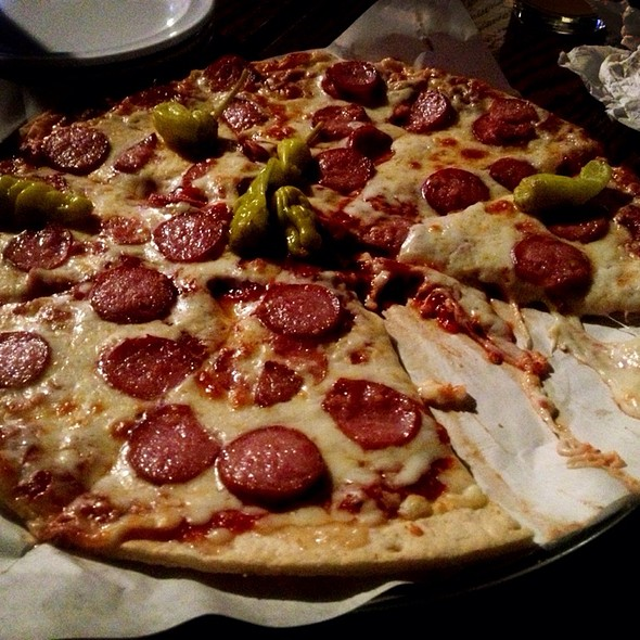 Kielbasa Pizza @ Double J Smokehouse And Saloon