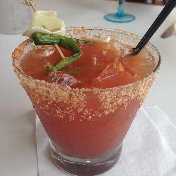 Dirty Bacon Bloody Mary @ Table Restaurant Creekside