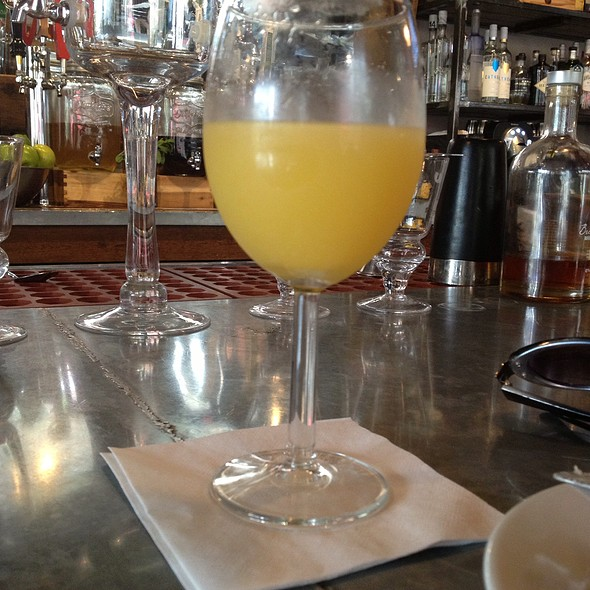Mimosa - Sprig Restaurant, Decatur, GA