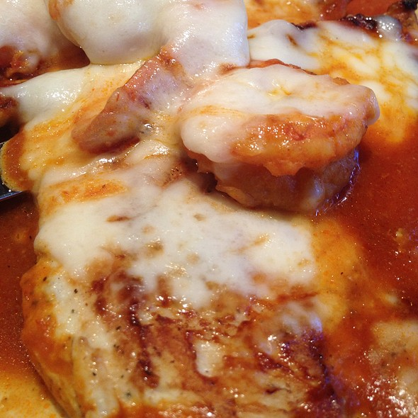 Chicken Breast Stuffed With Shrimp And Creole Sauce - Merengue Restaurant, Boston, MA