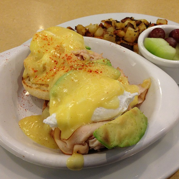 Eggs Benedict with Turkey and Avocado @ First Watch