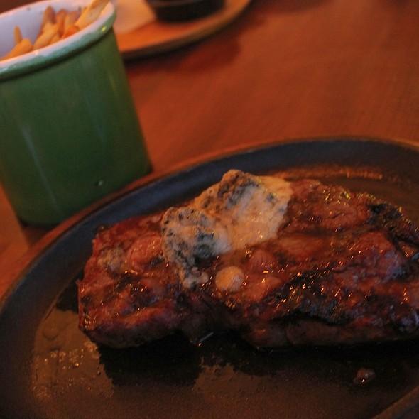 Niman Ranch NY Steak Frites @ Currents