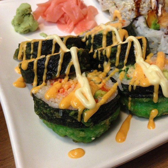 Hulk Roll - Fujiyama Steak House of Japan, Indianapolis, IN