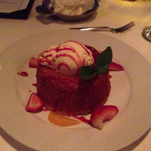 Mastro's Signature Warm Butter Cake - Mastro's Steakhouse - Chicago, Chicago, IL