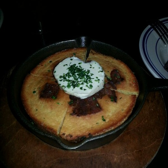 Nueske's Corn Bread - Untitled Supper Club, Chicago, IL
