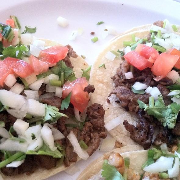 Beef Tacos @ Dona Mary