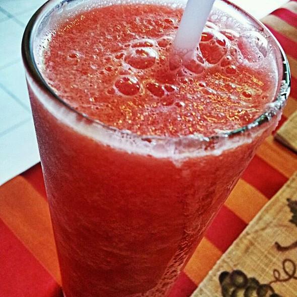 watermelon shake @ Cappuccino pizza
