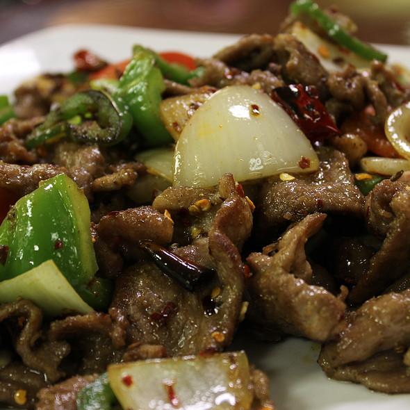 Stir Fry Lamb with Cumin @ Judy's Sichuan Cuisine