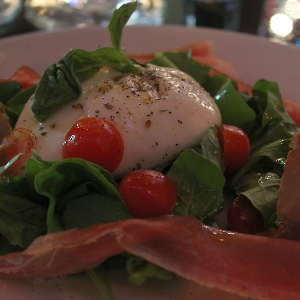 Housemade Burrata @ Flavio's Brick Oven and Bar