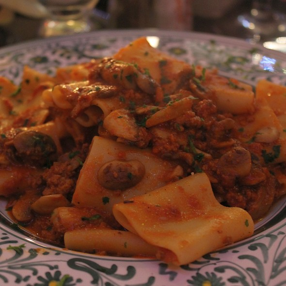 Rigatoni And Meat Sauce @ Flavio's Brick Oven and Bar