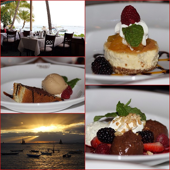 Desserts! - Michel's at the Colony Surf, Honolulu, HI