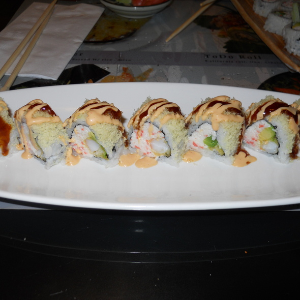 Crunchy Tempura Shrimp Roll
