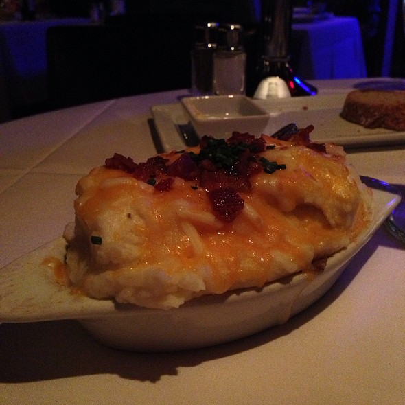 Twice Baked Potato - Eddie V's - Scottsdale Quarter, Scottsdale, AZ