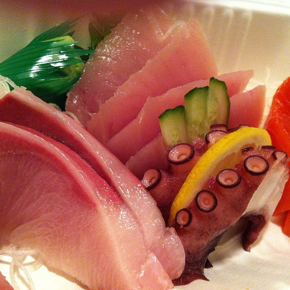 assorted sashimi @ Sushi Mart