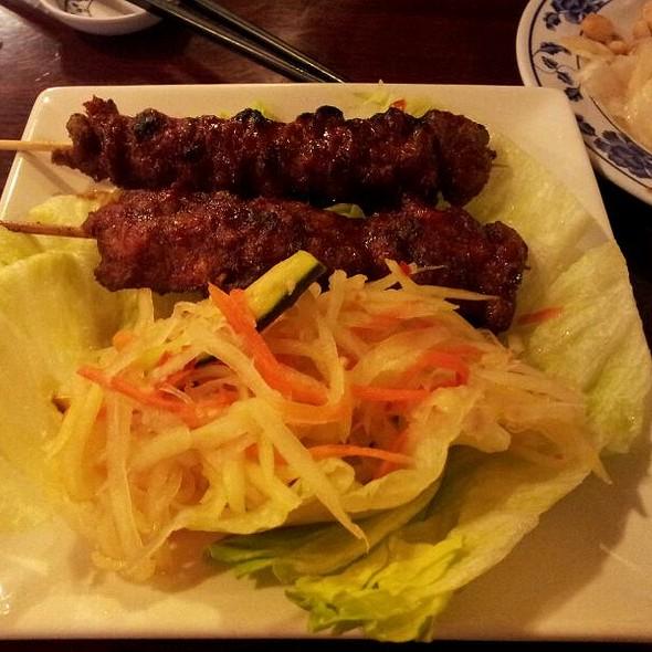 Bbq Beef Skewer (Appetizer Portion) @ Siem Reap Restaurant