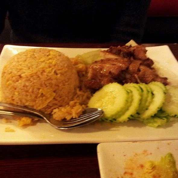 Soy sauce chicken and rice @ Siem Reap Restaurant