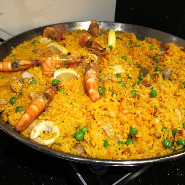 Seafood Paella @ La Gomera Restaurant