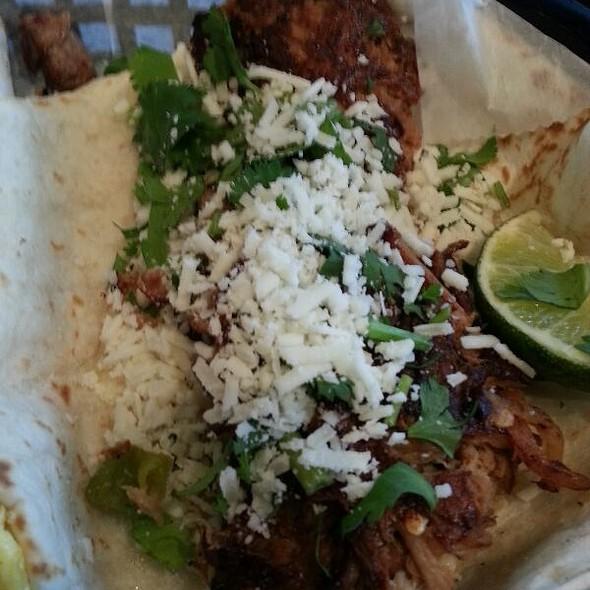 Green Chile Pork Taco
