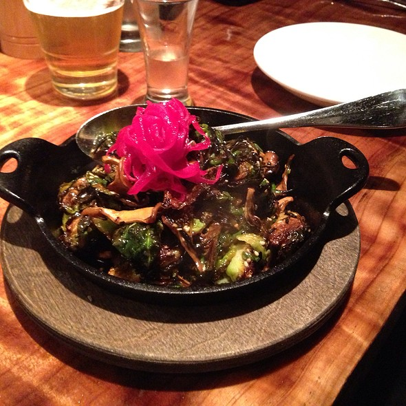 caramelized brussels sprouts - Umami, San Francisco, CA