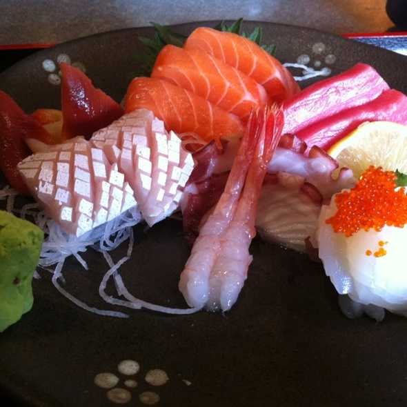 Assorted Sashimi Lunch Set @ Oceanwalk's Okinawa Japanese Restaurant