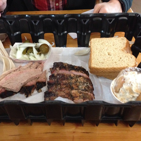 Extra Moist Beef Brisket @ Rudy's Country Store & Bar-B-Q