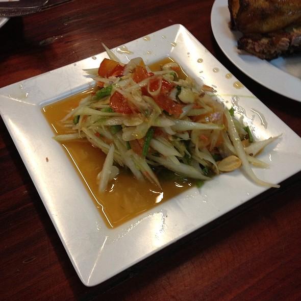 Somtum @ สบายใจไก่ย่าง | Sabai Jai Grilled Chicken