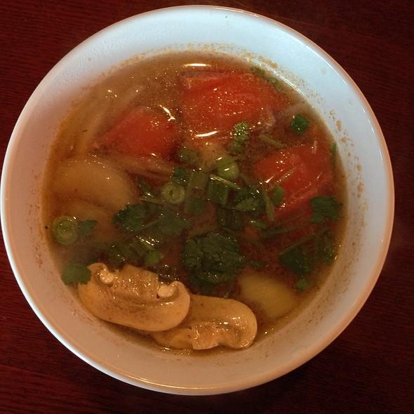 Tom Yum Soup @ Thai Blossom