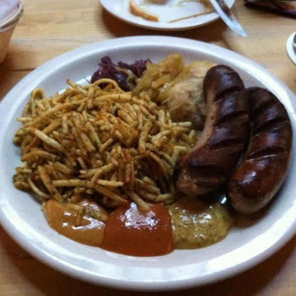 bratwurst @ Lederhosen German Restaurant