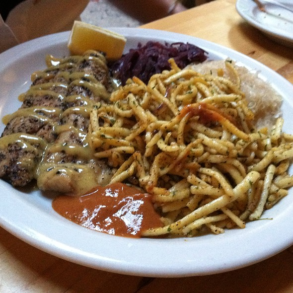 Smoked Mackerel @ Lederhosen German Restaurant